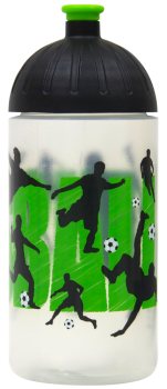 ISYbe Kinder Trinkflasche 0,5L Fußball